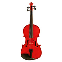 Ashton AV122 1/2 Size Violin - Red