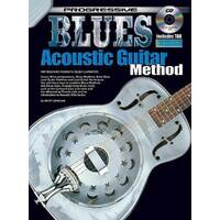 Progressive Blues Acoustic Guitar Book/CD