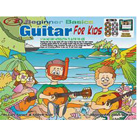 Beginner Basics Guitar for Kids Book with 3 Audio CDs and 3 DVDs