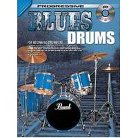 Progressive Blues Drums Book with CD