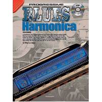 Progressive Blues Harmonica Book with CD