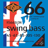 Rotosound RS665LDN Swing Bass 66 5 String Set 45-130 Nickel