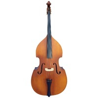 Vivo VIBL 3/4 Size Double Bass with Bag in Laminated Antique Finish